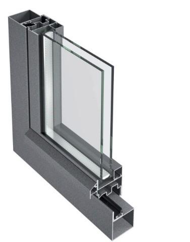 Interiérová ocelová okna